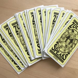Zoltar Stickers